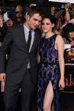 Kristen Stewart, Robert Pattinson photographie stock libre de droits
