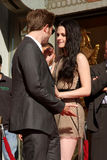 Kristen Stewart, Robert Pattinson Stock Photo