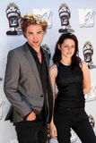 Kristen Stewart, Robert Pattinson Royaltyfria Foton