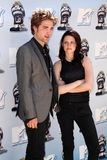 Kristen Stewart,Robert Pattinson Royalty Free Stock Photo
