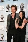 Kristen Stewart, Robert Pattinson Obrazy Stock