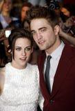 Kristen Stewart and Robert Pattinson Stock Photos