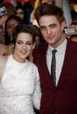 Kristen Stewart and Robert Pattinson Royalty Free Stock Images