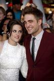 Kristen Stewart and Robert Pattinson Stock Photography