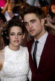 Kristen Stewart and Robert Pattinson Stock Photo
