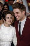 Kristen Stewart and Robert Pattinson Royalty Free Stock Photos