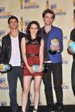 Kristen Stewart, Robert Pattinson, Taylor Lautner Stock Image
