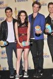 Kristen Stewart,Robert Pattinson,Taylor Lautner Stock Photos