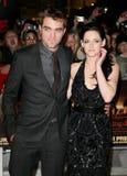 Kristen Stewart, Roberto Pattinson Fotos de archivo libres de regalías