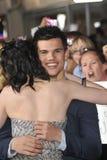 Kristen Stewart, Taylor Lautner Image libre de droits