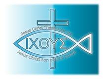 Kristen symbolism Arkivbild
