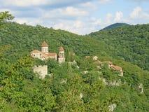 Kristen tempel på berget, Georgia arkivbild