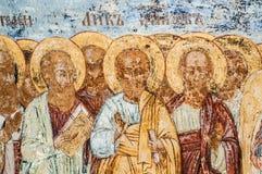 Kristen vägg- målning royaltyfria bilder