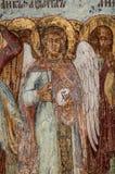 Kristen vägg- målning arkivfoto