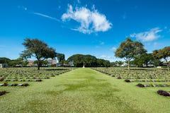 Kristen vitmics för kyrkogårdgravsten med trädhistoria av världen arkivbilder