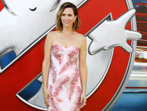 Kristen Wiig. At the World premiere of 'Ghostbusters' held at the TCL Chinese Theatre in Hollywood, USA on July 9, 2016 royalty free stock images