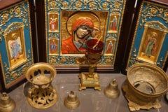 Kristendomen för religiös tro för symbolsikonreligion arkivfoton