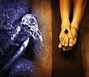 Kristendomen & Jesus, död eller räddning? Arkivfoton