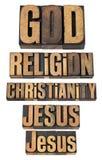 kristendomengudjesus religion Arkivfoton