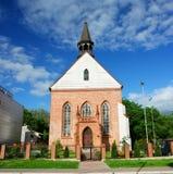 kristenkyrka Fotografering för Bildbyråer