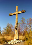 kristet kors Arkivfoton