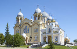 kristet ortodoxt tempel Arkivbild