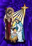 Kristi födelse Arkivfoto