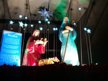 Kristi födelsen Fotografering för Bildbyråer