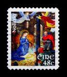 Kristi födelsen, julserie 2007, circa 2007 Royaltyfria Foton