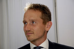 KRISTIAN JENSEN_DANISH MINISTER FOR FOREIGN AFFAIRS Royalty Free Stock Images