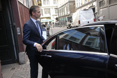 KRISTIAN JENSEN_DANISH MINISTER FOR FOREIGN AFFAIRS Royalty Free Stock Photo