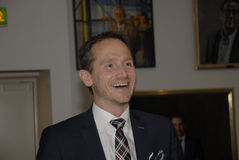 KRISTIAN JENSEN_FOREIGN MINISTER AND VICE CHAIRMAN Royalty Free Stock Photo