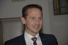 KRISTIAN JENSEN_FOREIGN MINISTER AND VICE CHAIRMAN Royalty Free Stock Images