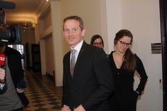 KRISTIAN JENSEN MINISER DANOIS POUR DES FINANCES photos stock