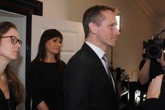 KRISTIAN JENSEN MINISER DANOIS POUR DES FINANCES photos libres de droits