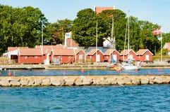Kristianopel marina Royalty Free Stock Photography