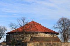 kristiansand замока Стоковая Фотография
