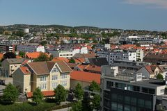 Kristiansand Royalty-vrije Stock Afbeeldingen