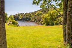 Kristiansand Landscapes Royalty Free Stock Photography