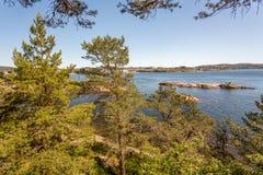 Kristiansand Landscapes Royalty Free Stock Photo