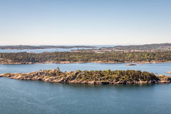 Kristiansand Landscapes. Exposure done in Kristiansand, Norway Royalty Free Stock Images