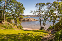 Kristiansand Landscapes. Exposure done in Kristiansand, Norway Royalty Free Stock Photos