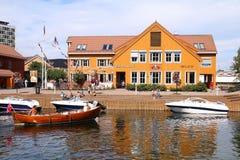 Kristiansand Norge royaltyfri fotografi
