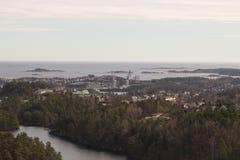 Kristiansand, Norvège Photo libre de droits