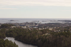 Kristiansand, Norwegen Lizenzfreies Stockfoto
