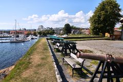 Kristiansand, Norwegia Obrazy Royalty Free