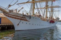 Kristiansandboten en Jachthaven Royalty-vrije Stock Afbeelding