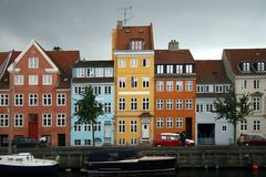 Kristianshavn, Copenhaga, Dinamarca. Imagens de Stock
