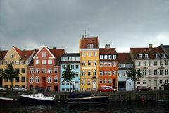 Kristianshavn, Copenhague, Danemark. Photo libre de droits