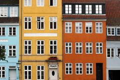 Kristianshavn, Copenhague, Danemark. Photo stock